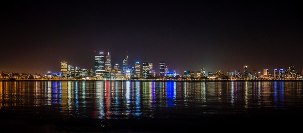 Night View from South Perth