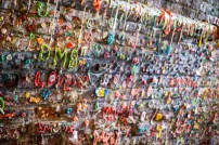 Gum Wall (Had been removed in 2015)