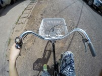 Cycling in Vientiane
