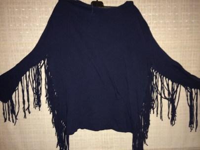 Zara fringed top