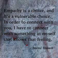 empathy brene brown