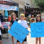 Empowered Kids Support Dallas Police
