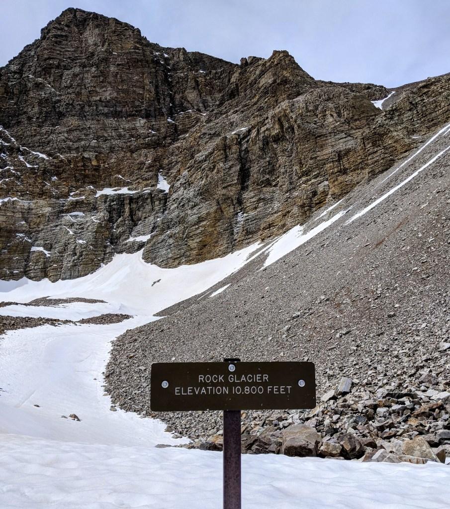 Rock Glacier at Great Basin National Park