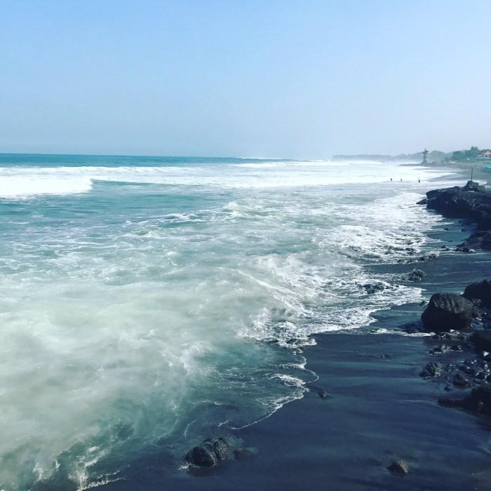 ocean at Canggu, Bali
