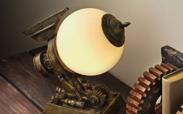 10 STEAMPUNK Decor Accessories & Ideas That Will Blow Your