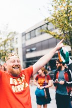 This guy was crowned king of the Irish ginger festival a few weeks ago. He was LOVING life!