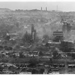 View of abandoned Union Carbide plant, Bhopal 2001©2001 Greenpeace/Raghu Rai