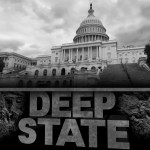 Deep,State,Politics,Concept,And,United,States,Political,Symbol,Of