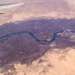Nile,River,Valley,Under,The,Wing,Of,An,Airplane