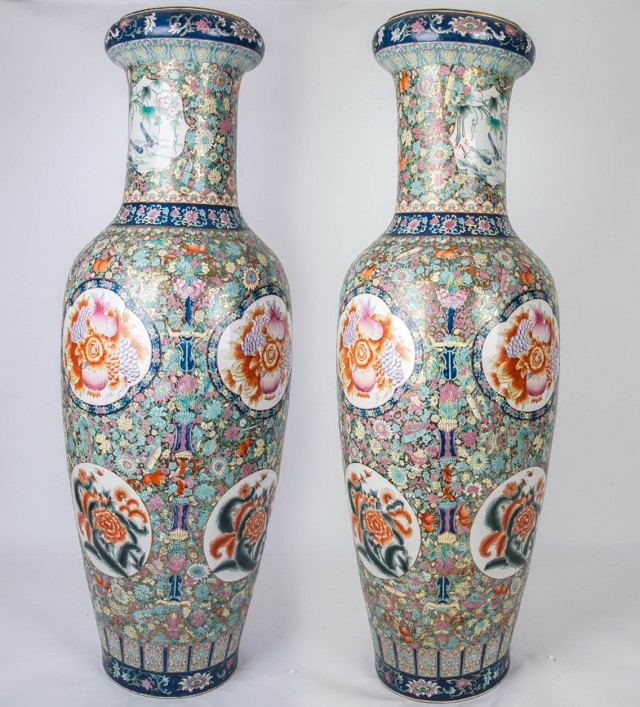 3 Foot Tall Floor Vases
