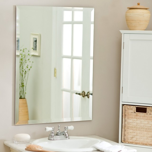 Beveled Bathroom Vanity Mirrors