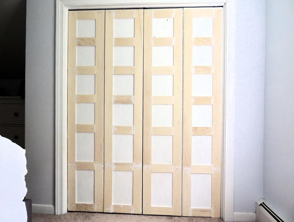 Cover Mirrored Closet Doors