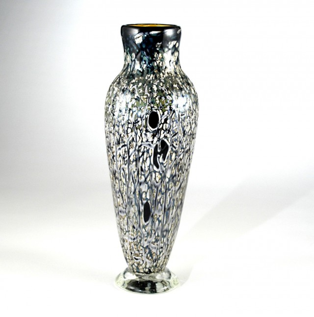 Crackle Glass Vases Wholesale