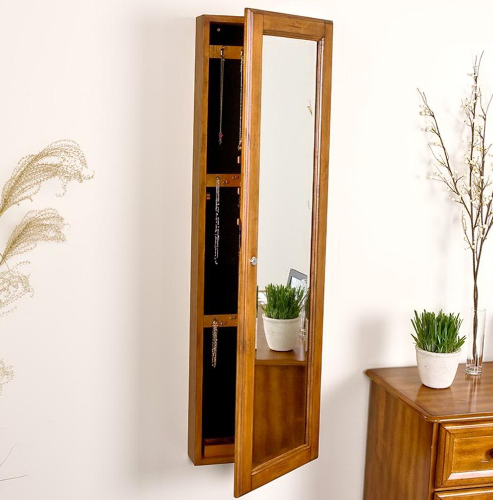 Full Length Mirror Jewelry Box