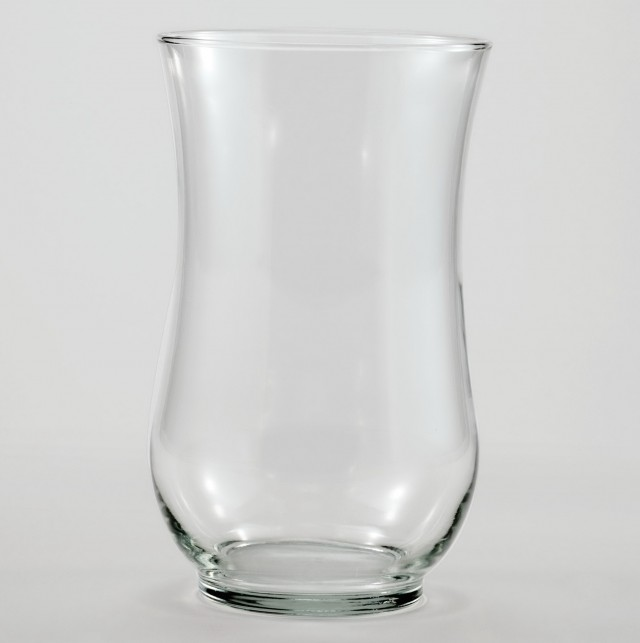 Large Decorative Clear Glass Vases