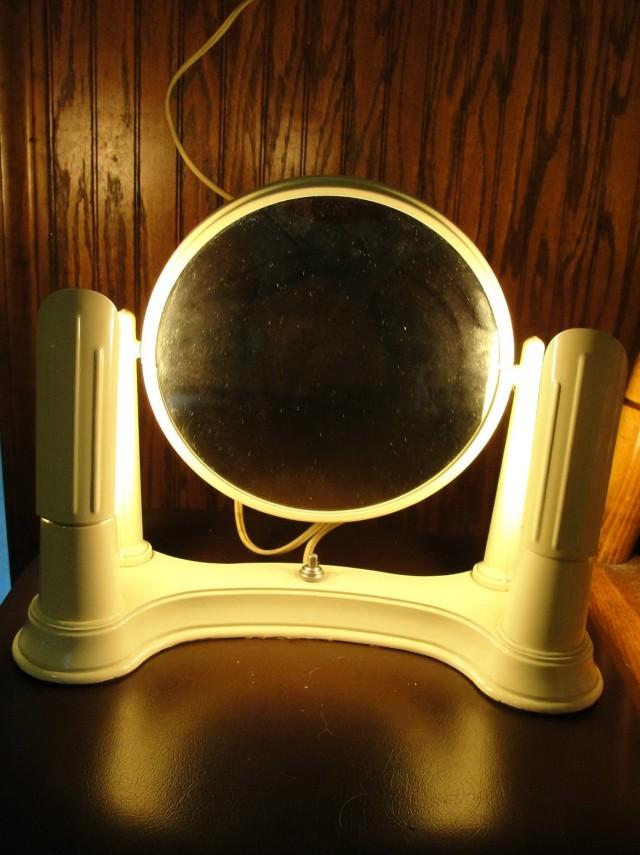 Lighted Vanity Mirror Table Top