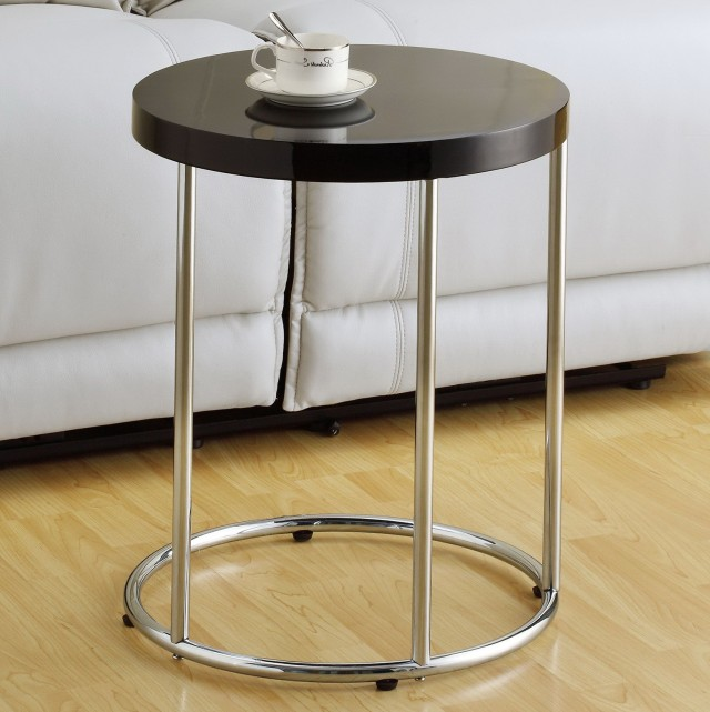 Metal Accent Table Round
