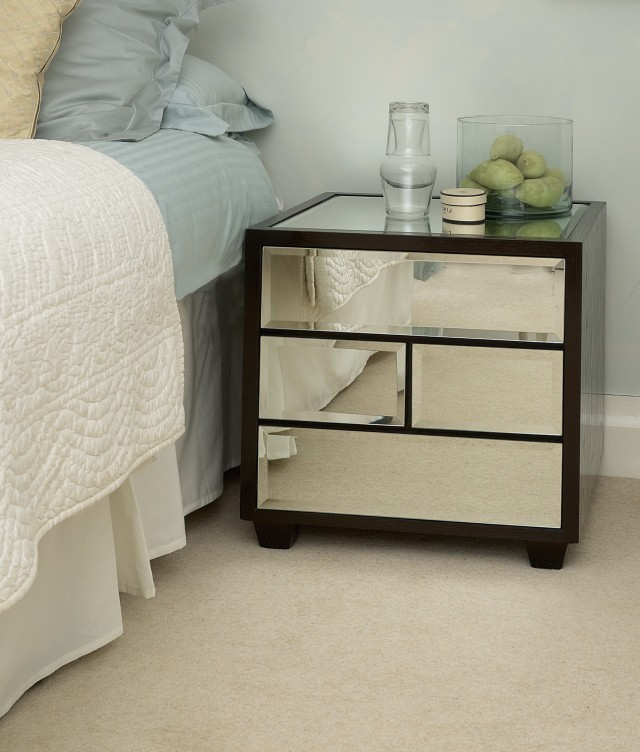 Mirror Bedside Tables