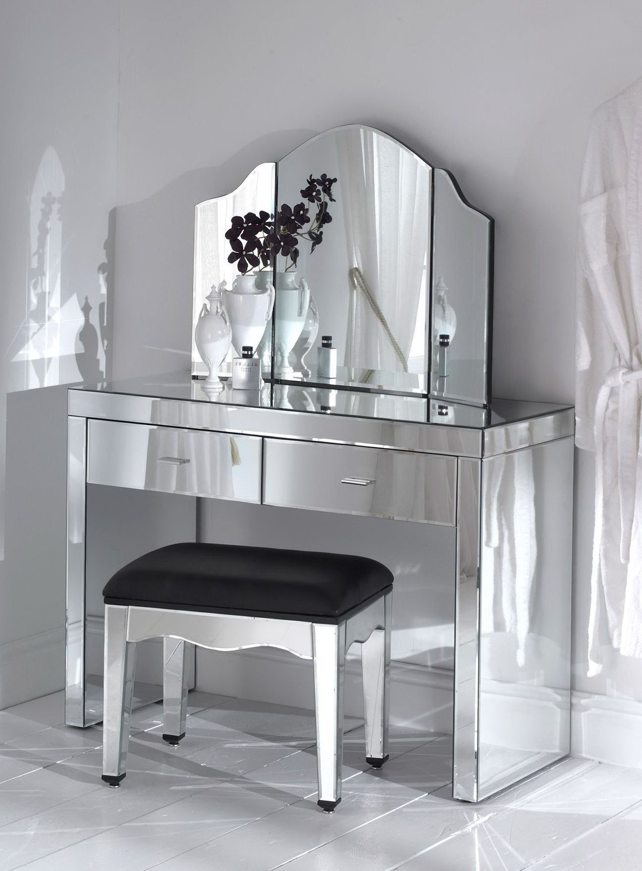Mirrored Vanity Table Pier One