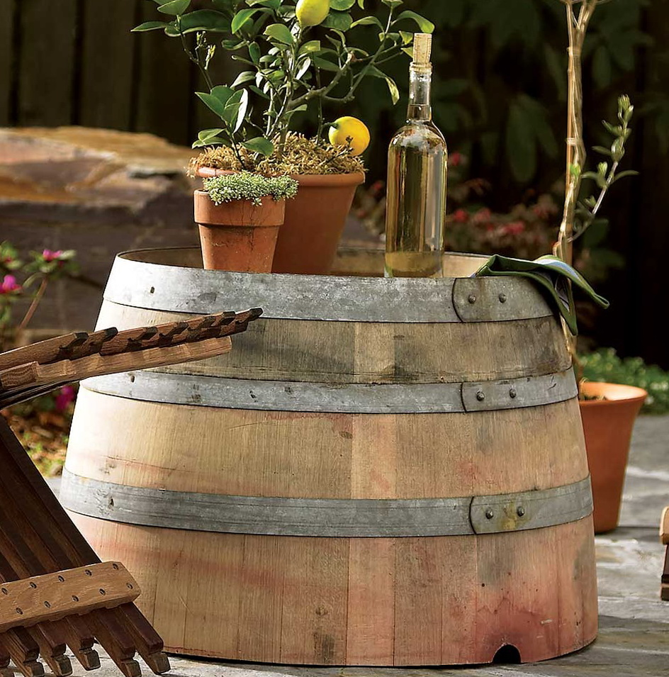 Outdoor Side Table Ideas