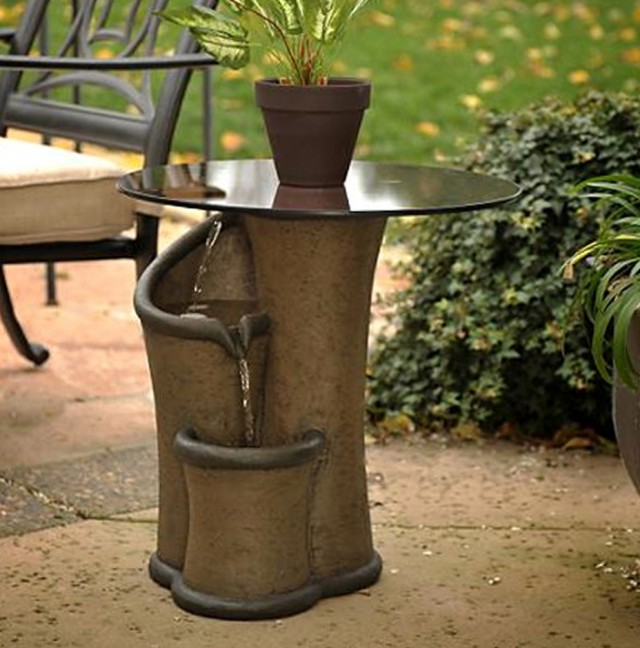 Outdoor Side Tables Home Garden