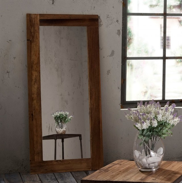 Rustic Floor Length Mirrors