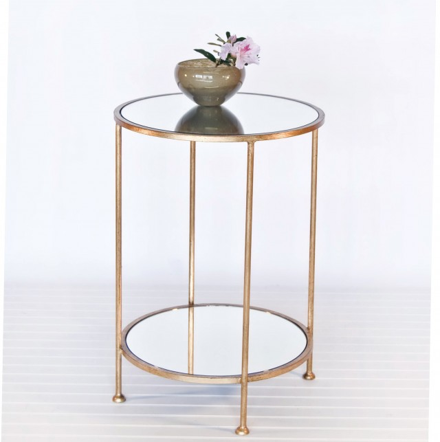 Small Glass Side Table