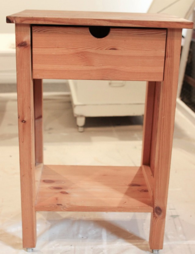 Small Rustic Side Table