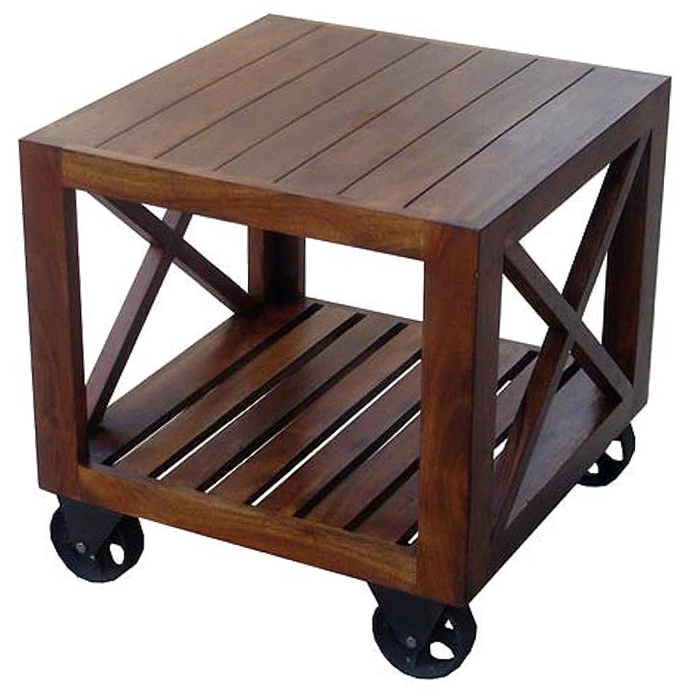 Small Side Tables With Wheels