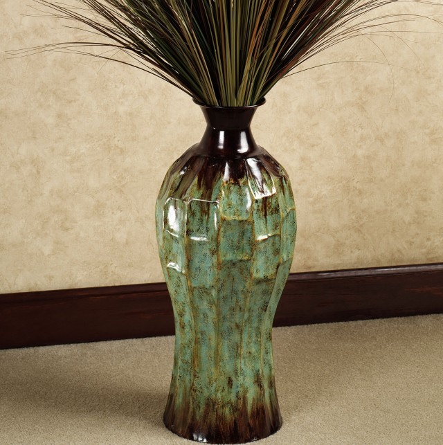 Tall Floor Vase With Branches