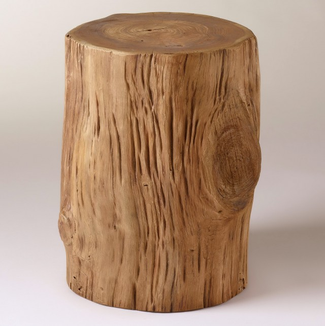 Tree Stump Side Table Australia