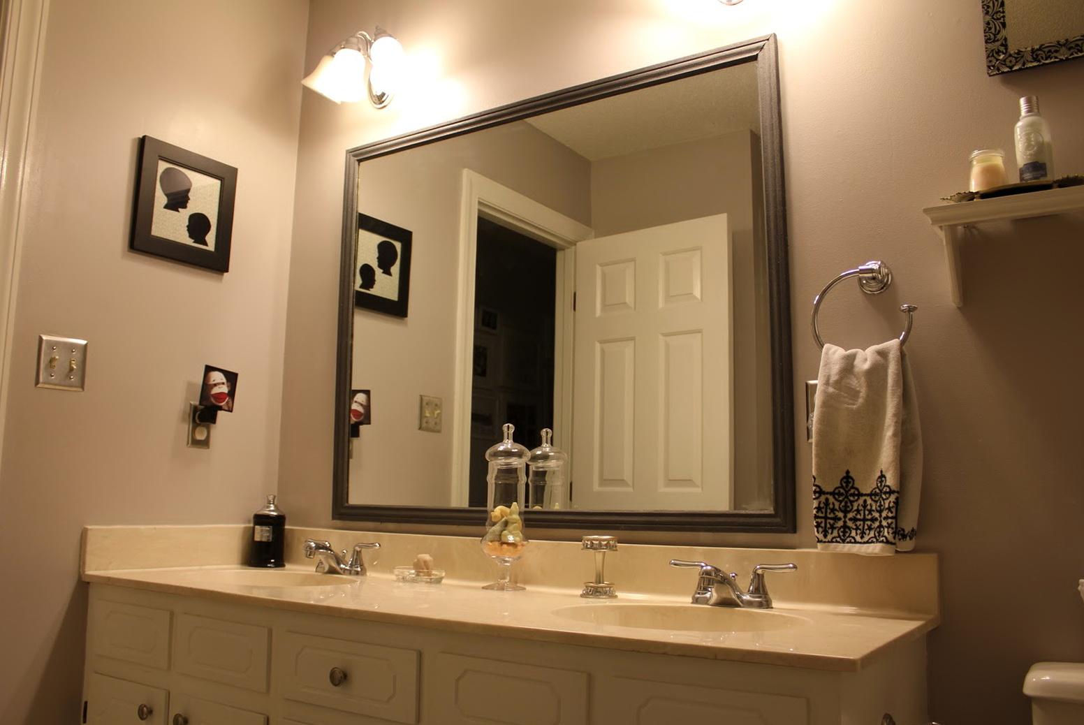 Bathroom Mirror Frames Lowes