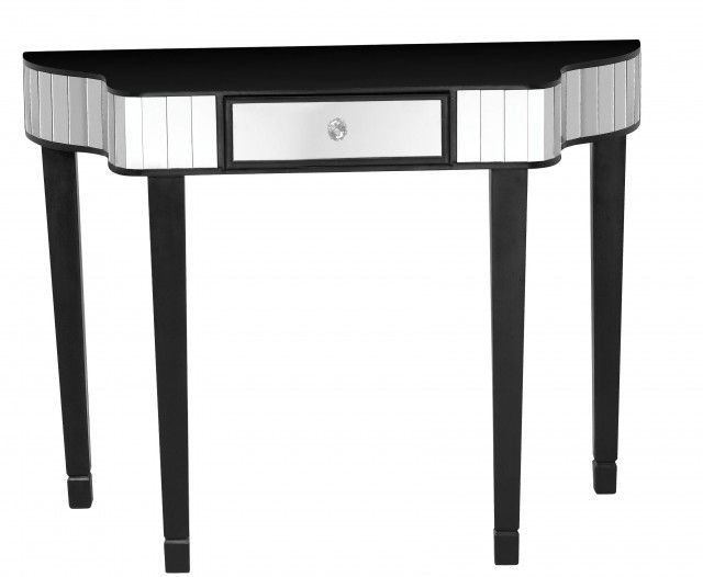 Black And Silver Console Table