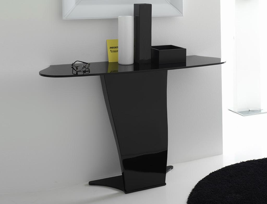 Black Console Tables Contemporary