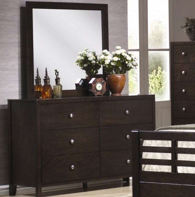 Black Dresser With Mirror Cheap