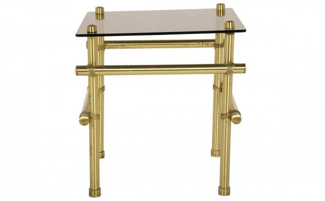 Brass Side Tables Vintage
