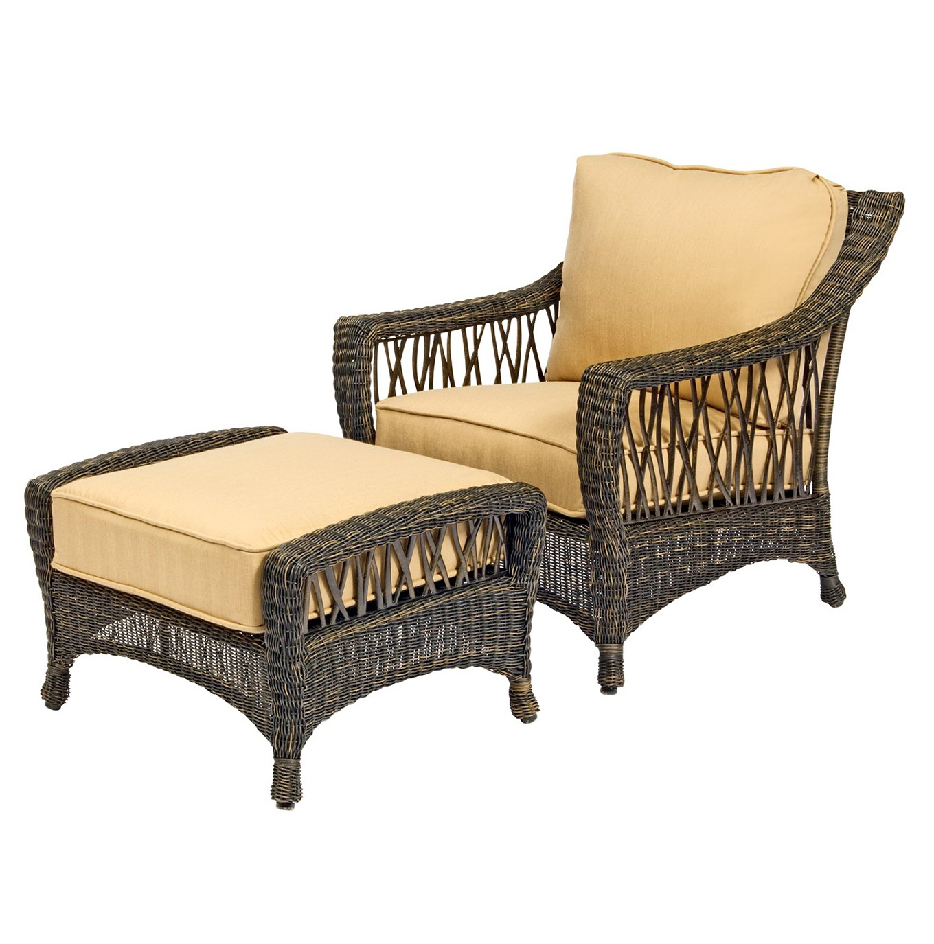 Chair With Ottoman Sets