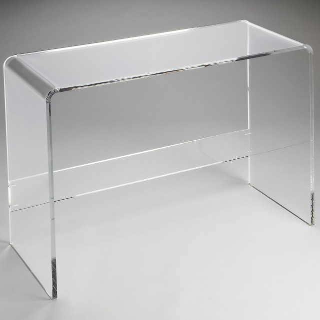 Clear Acrylic Console Table