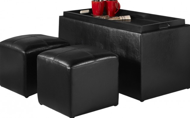 Coffee Table Ottoman Combo