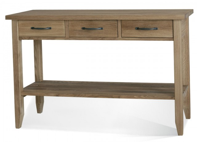 Console Table With Drawers And Shelf