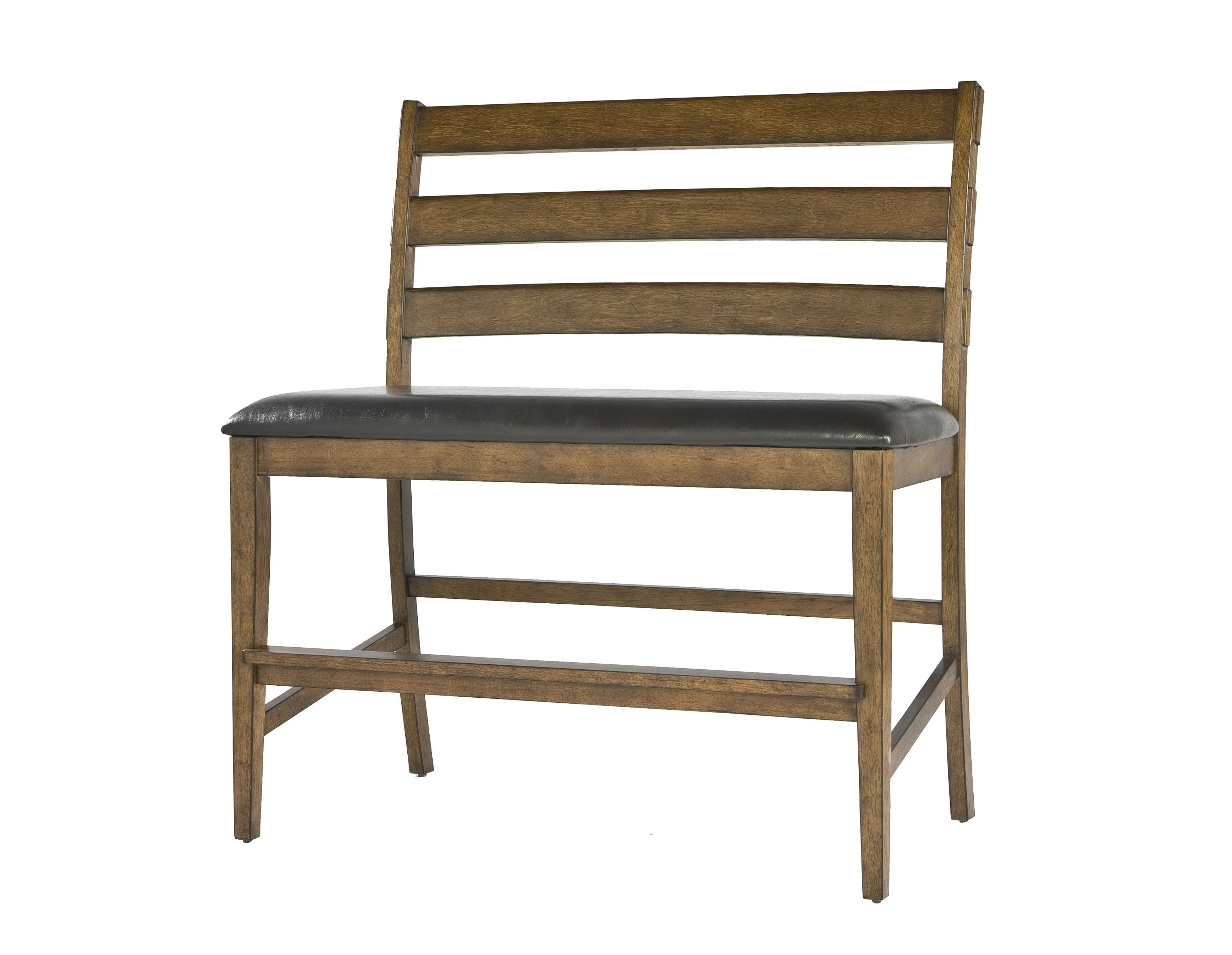 Counter Height Bench Seat With Back
