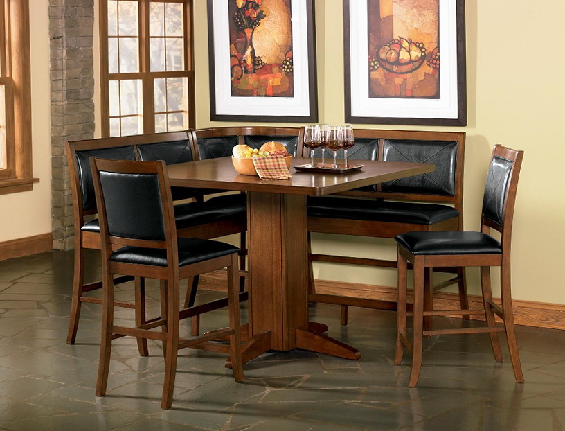 Counter Height Dining Set With Bench