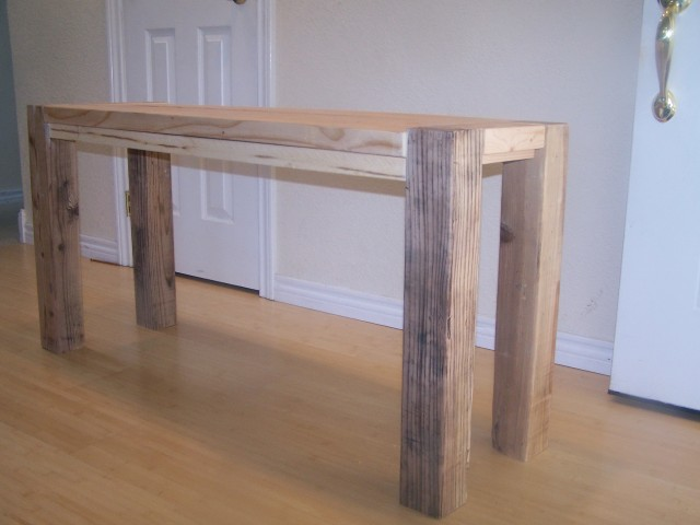 Diy Counter Height Bench