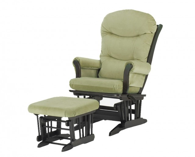 Dutailier Glider And Ottoman Set