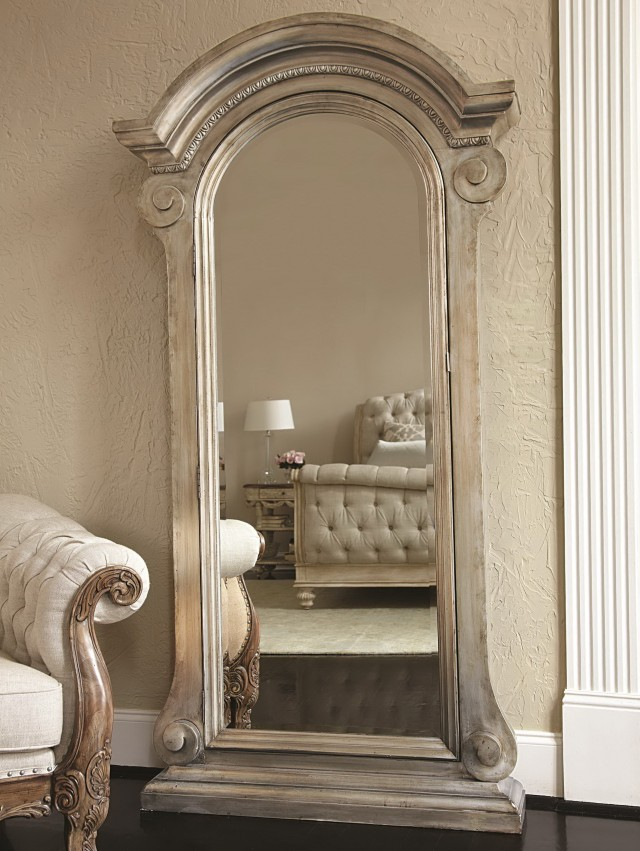 Floor Standing Mirror Jewelry Armoire