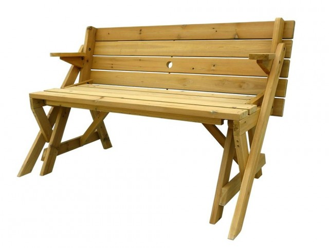 Folding Picnic Table Bench Plans