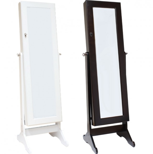 Free Standing Mirror With Storage