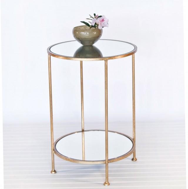 Glass Bedroom Side Tables
