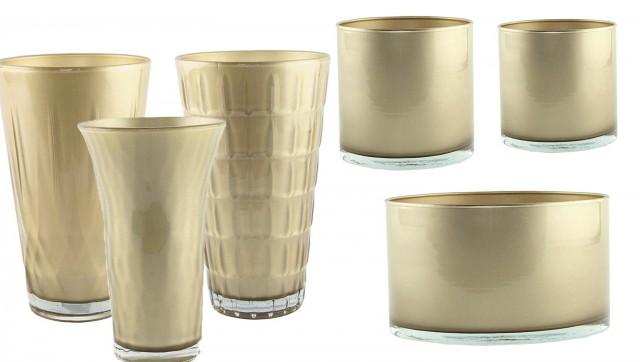 Gold Flower Vases Wholesale