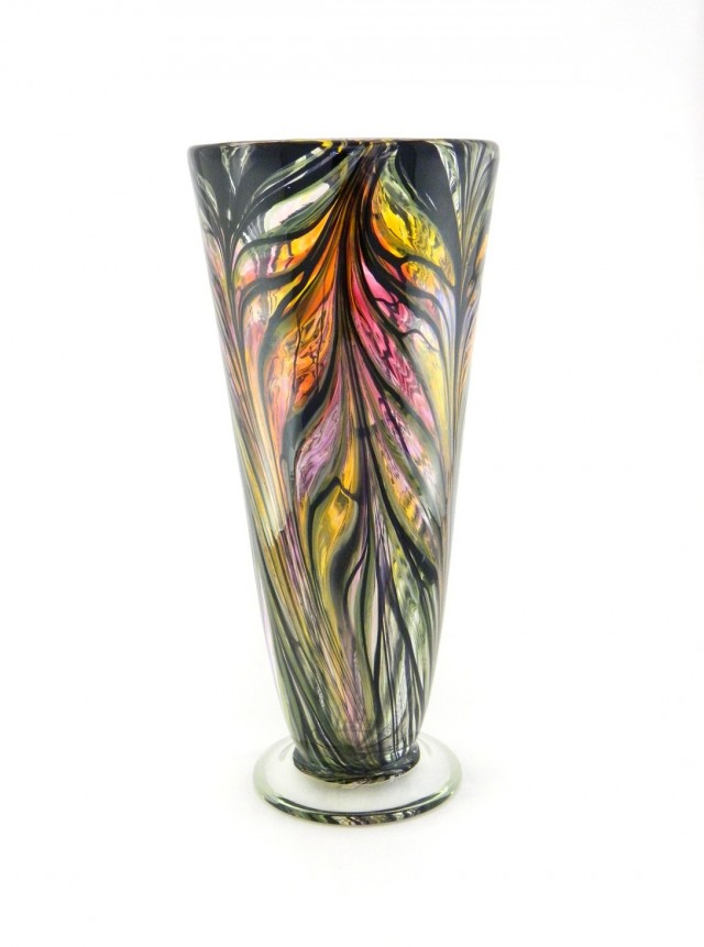 Hand Blown Glass Vases Australia